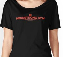 Nerdstrong Logo - Red Women's Relaxed Fit T-Shirt