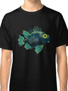 Mechanical Fish Patttern Classic T-Shirt