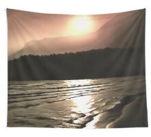 Overwhelming Waves of Sadness Wall Tapestry
