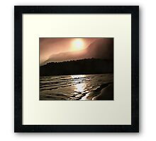 Overwhelming Waves of Sadness Framed Print