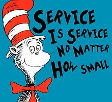 Service by Dr.Suess by KeyClubStuff