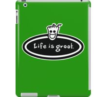 Life is Groot iPad Case/Skin