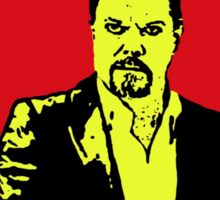 Eddie Izzard Christmas Sticker