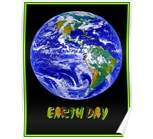 EARTH DAY; Advertising Print Poster