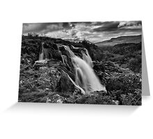 The Loup of Fintry Greeting Card