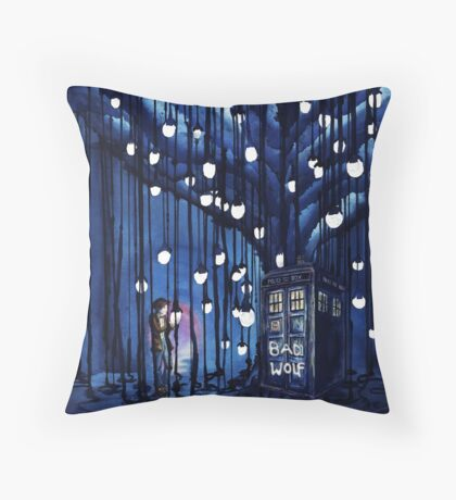 Doctor Who Journey Throw Pillow