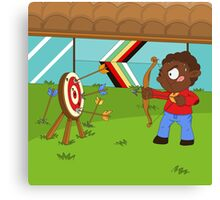 Olympic Sports: Archery Canvas Print