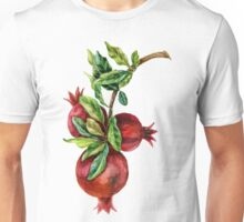 Pomegranate Branch Unisex T-Shirt