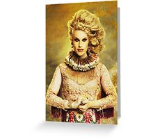 Queen Katya Zamolodchikova Greeting Card
