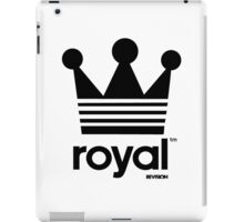 Royal Crown-Revision Apparel™ iPad Case/Skin