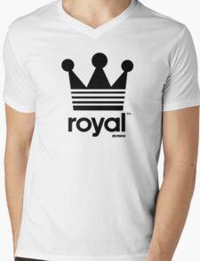 Royal Crown-Revision Apparel™ Mens V-Neck T-Shirt