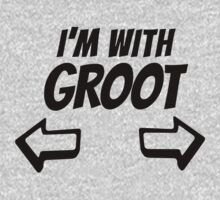 I Am With Groot by nardesign