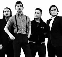 B&W Arctic Monkeys by silke16907