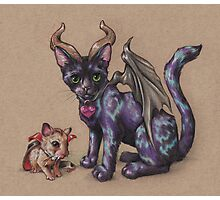 Pet Monsters - RedBubble Challenge October 2016 Photographic Print