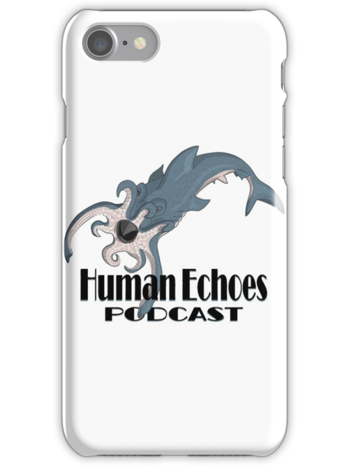 Octoshark with Logo by hepodcast