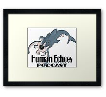 Octoshark with Logo Framed Print