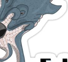 Octoshark with Logo Sticker