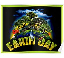 EARTH DAY; Conservation Advertising Print Poster