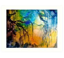 The Willow Art Print