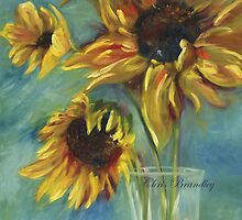 Sunflowers by Chris Brandley by ChrisBrandley