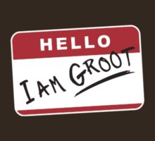 Hello I Am Groot by nardesign