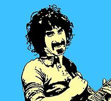 Frank Zappa by DJVYEATES