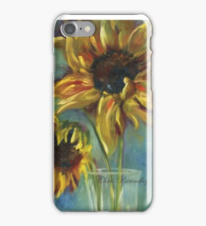 Sunflowers by Chris Brandley iPhone Case/Skin