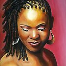 Lady with braids by paintingsbycr10