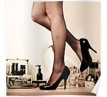 Dressing Table Poster