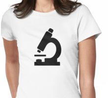 Microscope Womens Fitted T-Shirt