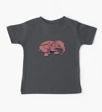 Seeing Pink Elephants? Baby Tee