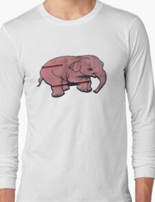 Seeing Pink Elephants? Long Sleeve T-Shirt