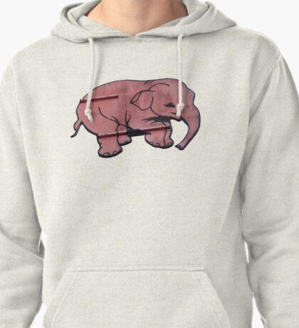 Seeing Pink Elephants? Pullover Hoodie