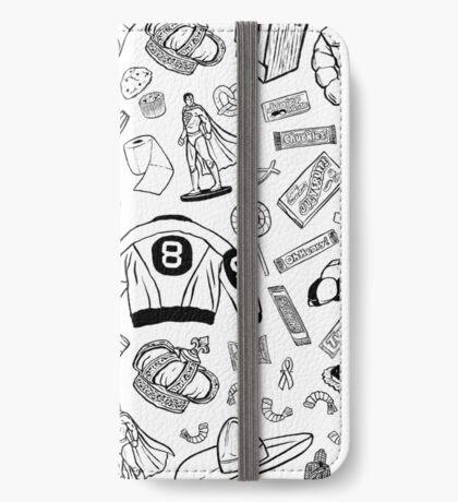 Seinfeld Pattern iPhone Wallet/Case/Skin
