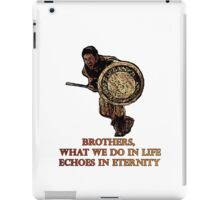 Maximus quote Gladiator tribute iPad Case/Skin