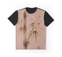 'whispy meadow' ink and brush pen painting on paper Graphic T-Shirt