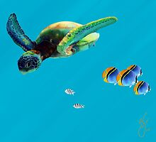 Sea Turtle by Haley Gentry