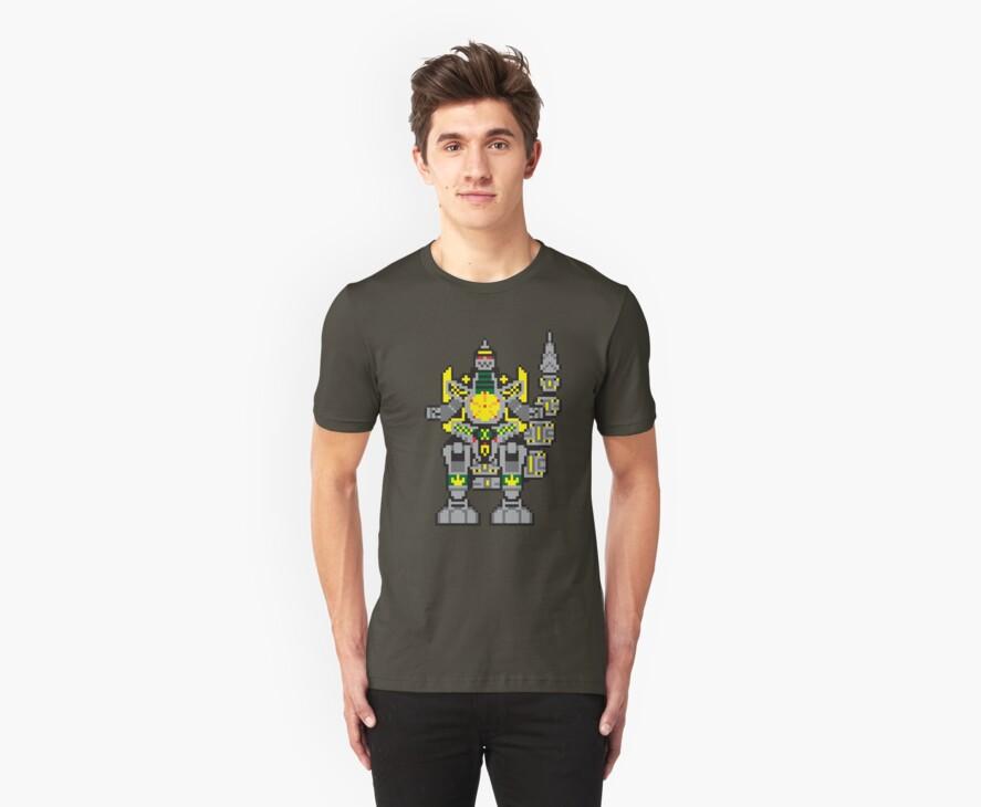Green Dragonzord by themaddesigner