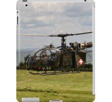 Alouette V-54 iPad Case/Skin