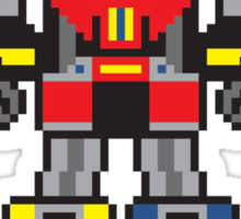 Megazord Sticker