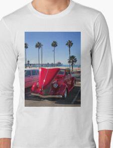 Huntington  Beach Car Show Long Sleeve T-Shirt