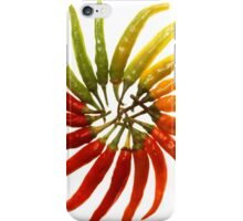 Charleston Hot Peppers Color Wheel iPhone Case/Skin