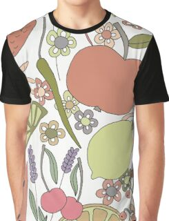 fruits vegetables and flower power  Graphic T-Shirt