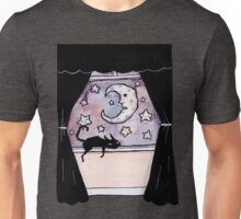 Kitty and the Moon Unisex T-Shirt