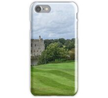 Putting at Leeds Castle Golf Course iPhone Case/Skin