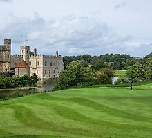 Putting at Leeds Castle Golf Course by Chris Thaxter