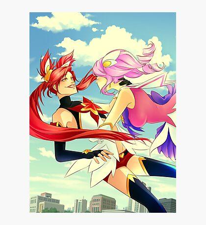Star Guardian Jinx and Lux Photographic Print