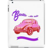 Beetle, das auto iPad Case/Skin