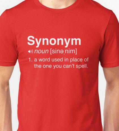 Funny Synonym Definition Unisex T-Shirt