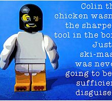 Colin the chicken, by Tim Constable by Tim Constable